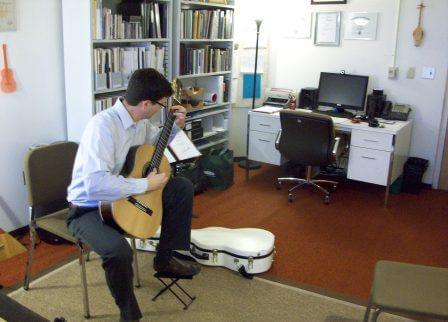 Stephen Mattingly playing Guitar No. 4