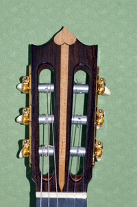Classical Guitar Headstock Design