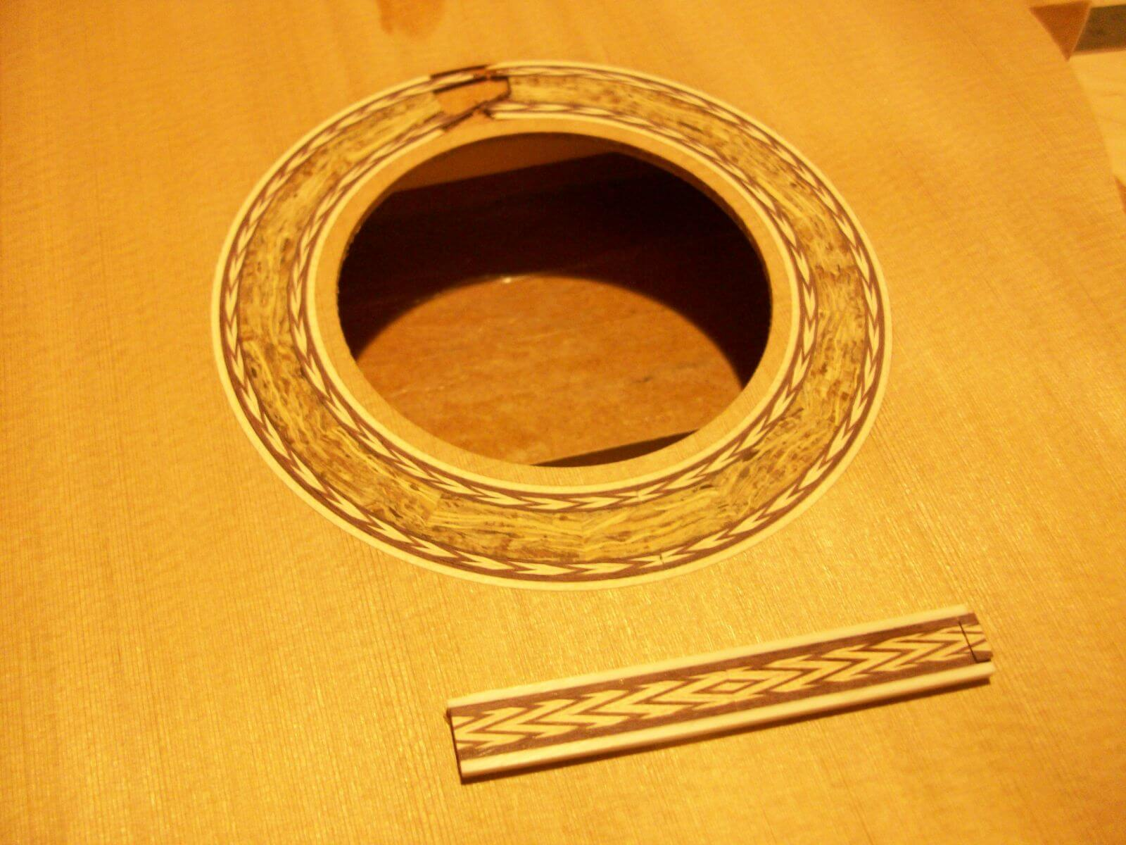 Zebulon Turrentine Rosette and Tie Block Inlay