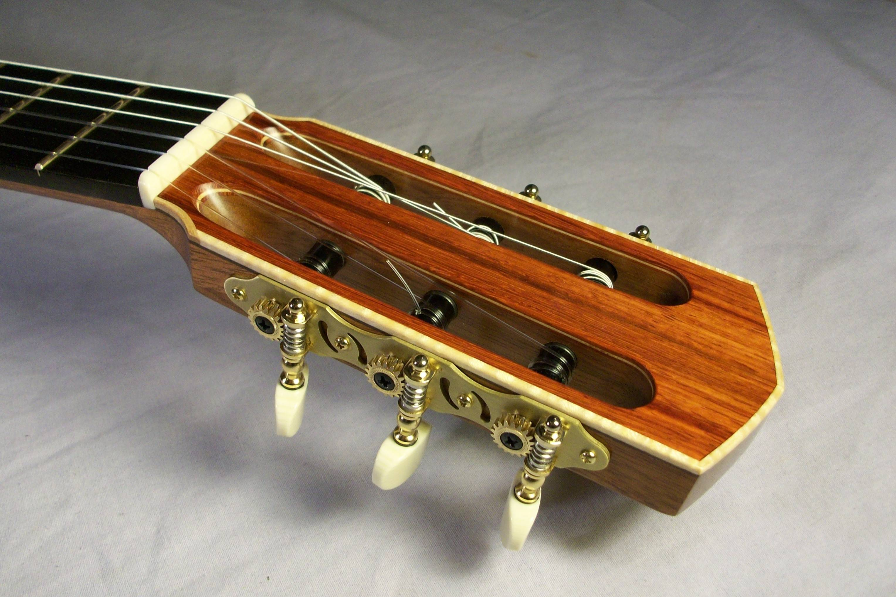 Headstock Crest with Binding