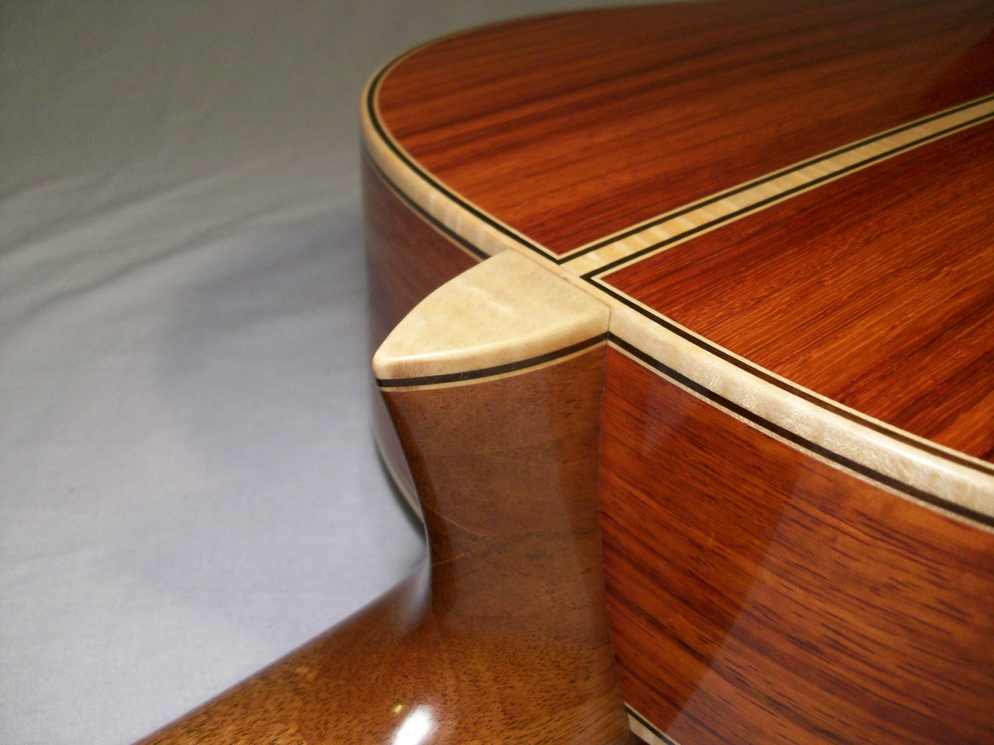 Tiger Maple Binding