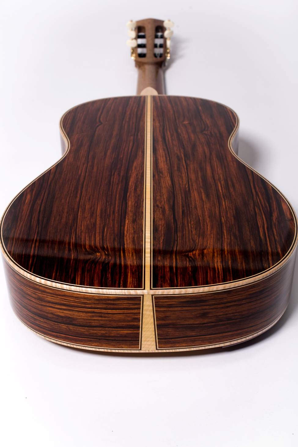 Brazilian Rosewood Guitar Back