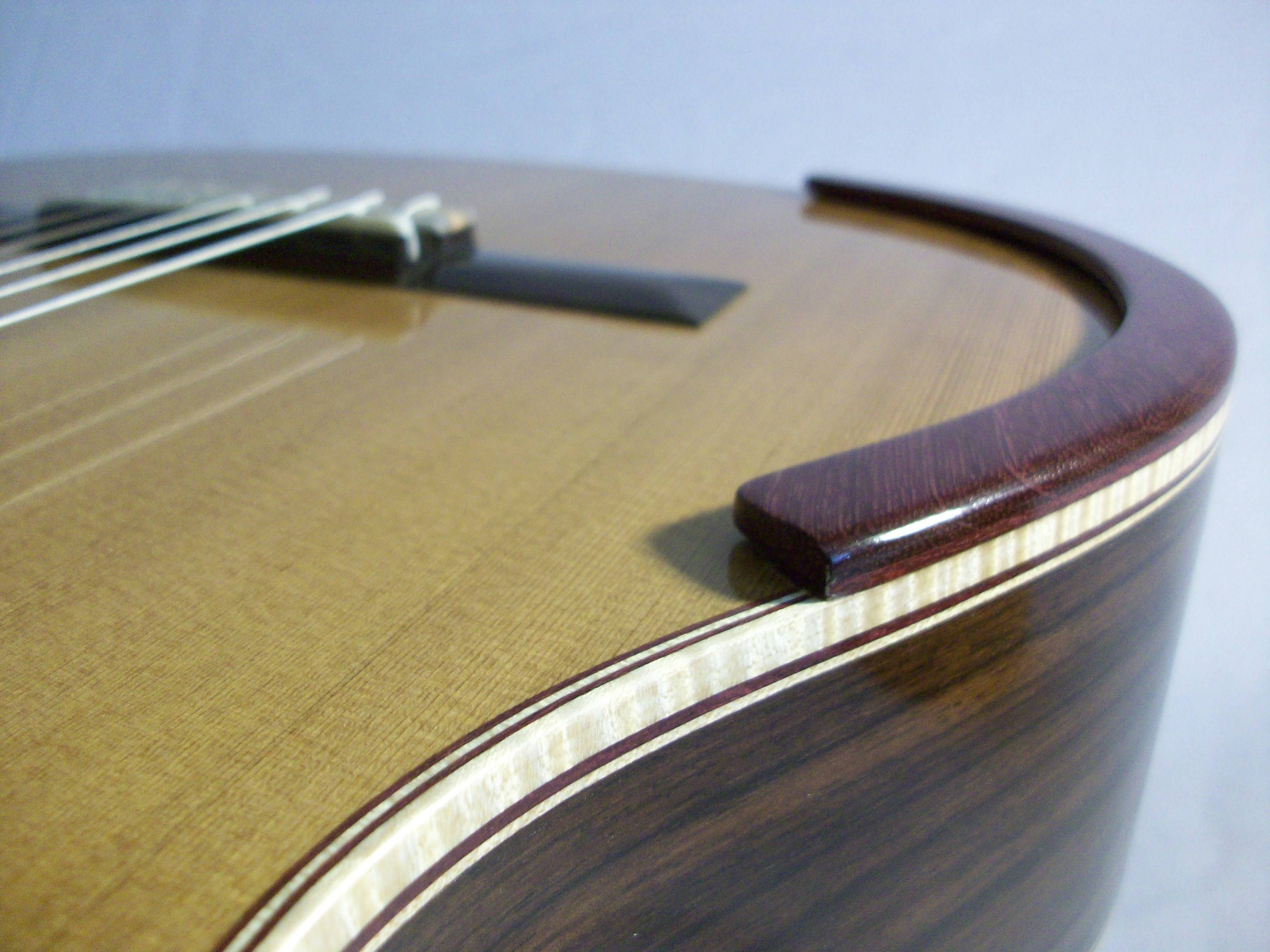 The Classical Guitar's Permanent Armrest
