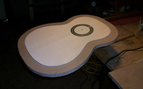 Inlaying the Rosette