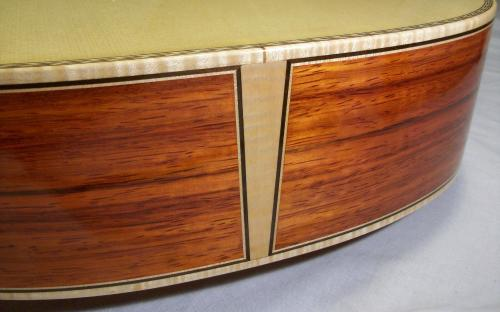 Purfling Joinery at the Tail