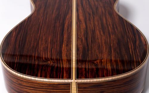 Brazilian Rosewood Guitar Back