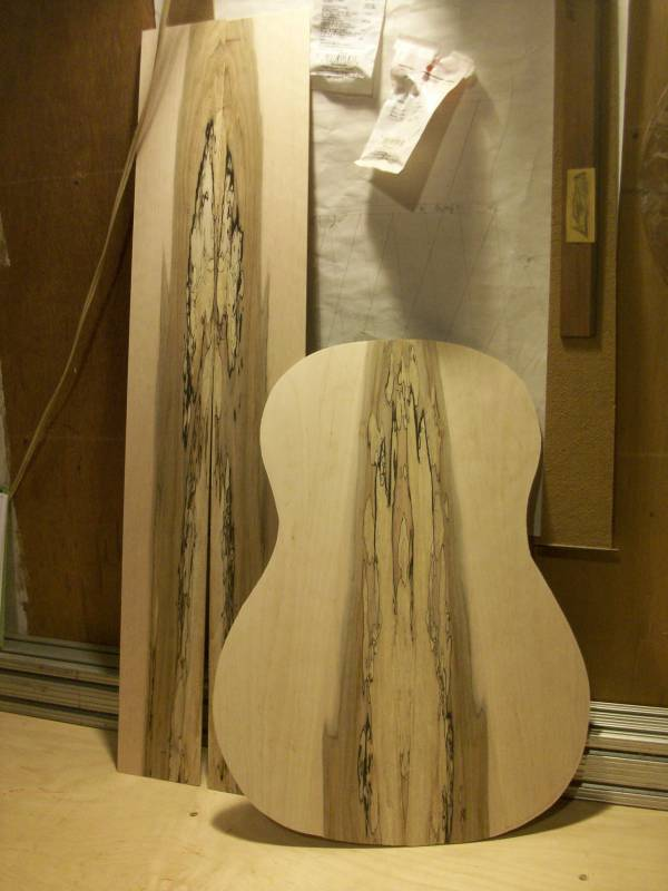 The Classical Guitar's Back and Side Set Complete