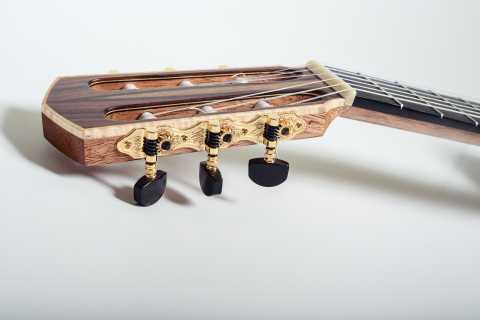 Classical Guitar Headstock Design