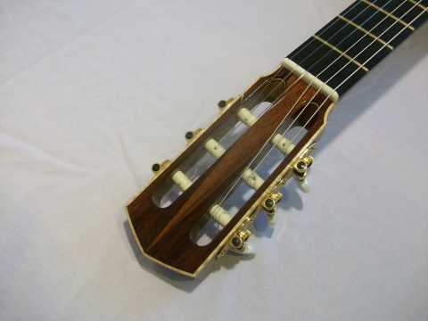 Headstock Bound in Tiger Maple