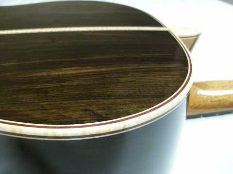 African Blackwood Back and Sides